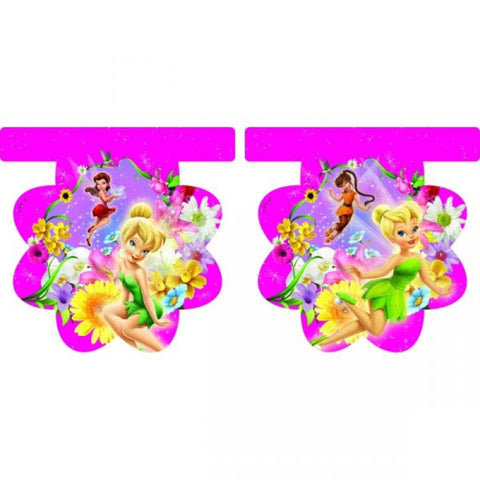 Springtime Fairies Flag Banner