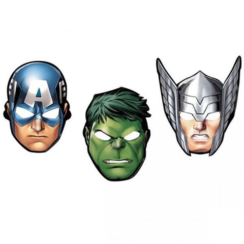 Marvel's Avengers Masks 8ct