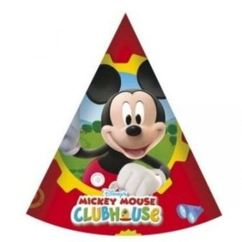 Mickey Mouse Clubhouse Party Hats 6ct