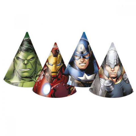 Avengers Party Hats 6ct