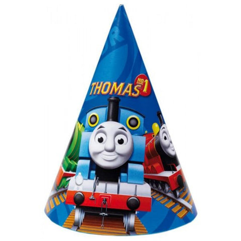 Thomas and Friends Party Hats 6ct