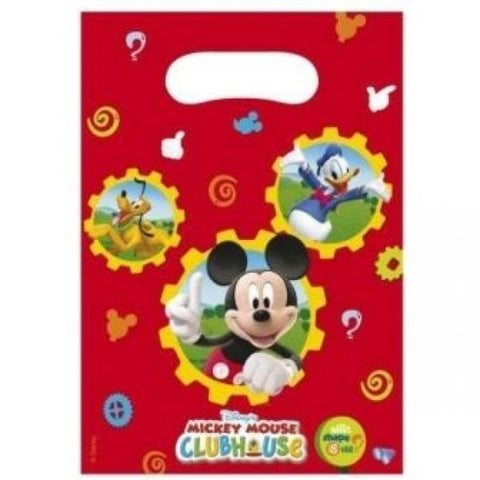 Mickey Mouse Clubhouse Party Bags 6ct