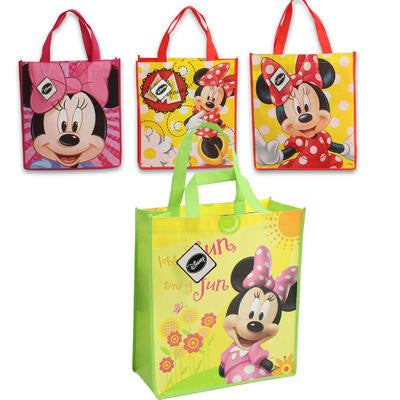 Disney Minnie Reusable Tote Non-Woven Bag - 15.8""