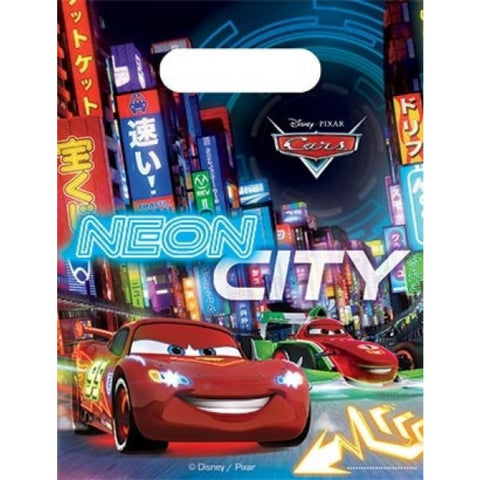 Cars Neon Series Party Bags 6ct