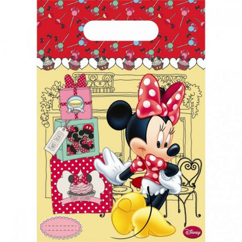 Minnie Cafe Party Bags 6ct