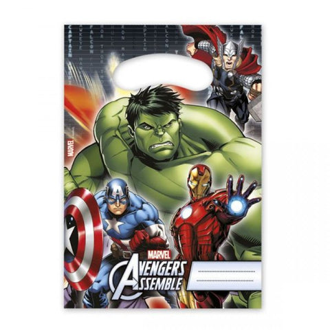 Avengers Party Bags 8ct
