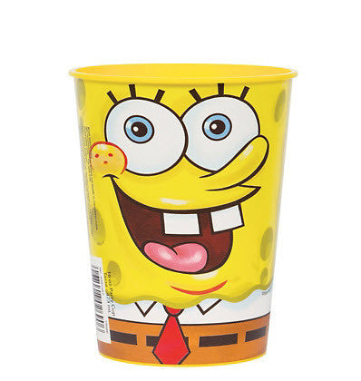 SpongeBob Plastic Favor Cup 16oz