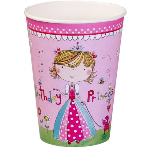 Rachel Ellen Princess Party Paper Cups 8ct