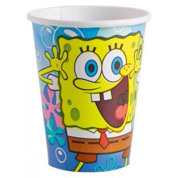 SpongeBob 9 oz. Party Paper Cups 8ct