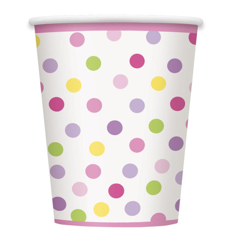 Baby Girl Stork Party Paper Cups 8ct