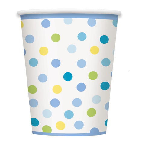 Baby Boy Stork Party Paper Cups 8ct