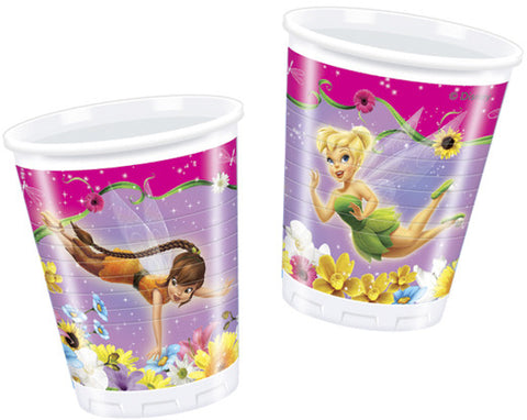 Fairies Springtime Party Plastic Cups 10ct