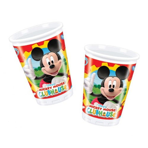 Mickey Mouse Clubhouse Party Plastic Cups 10ct