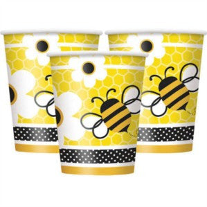 Bumble Bee Party Paper Cups 8ct