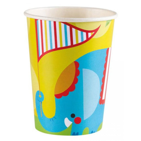 Fisher Price Circus Party Plastic Cups 8ct