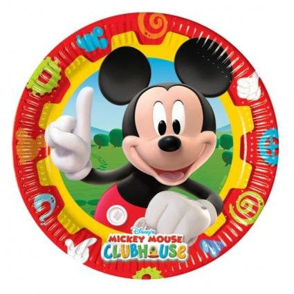 Mickey Mouse Clubhouse Party Paper Plates 10ct