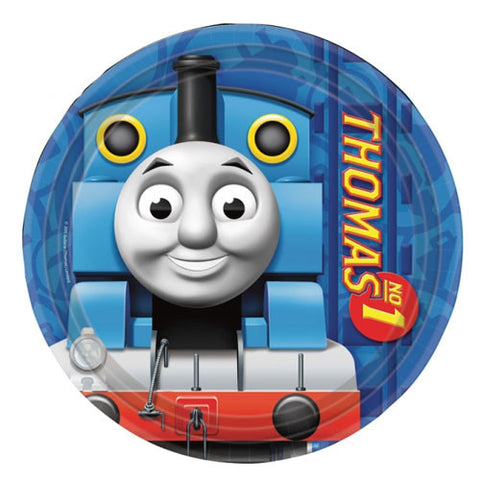 Thomas And Friends Party Paper Dessert Plates 8ct