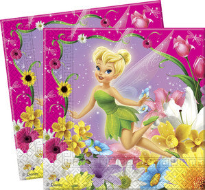 Springtime Fairies Party Serviettes