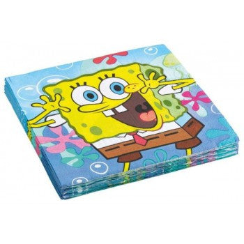 SpongeBob Party Serviettes
