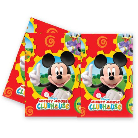 Mickey Mouse Clubhouse Plastic Tablecloth