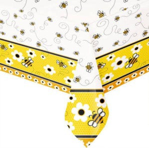 Bumble Bee Plastic Tablecloth