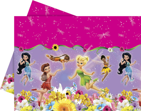 Springtime Fairies Plastic Tablecloth