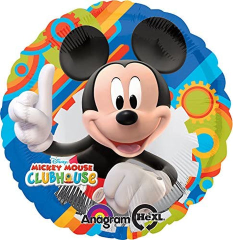"9"" Disney Mickey Mouse Clubhouse Foil Balloon"
