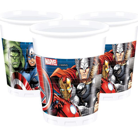Avengers Party Plastic Cups 8ct