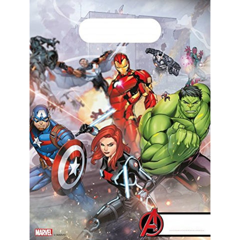 Avengers Party Bags 6ct