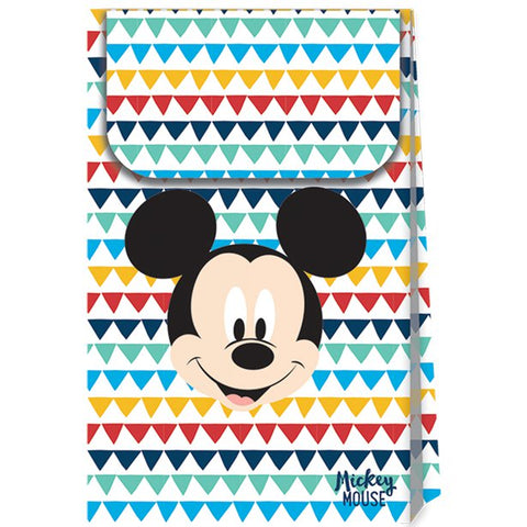 Mickey Awesome Paper Party Bags 6ct