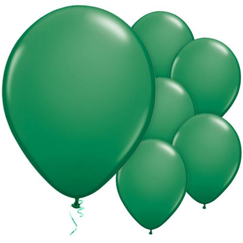 "Latex 11"" Green Balloons 25ct"