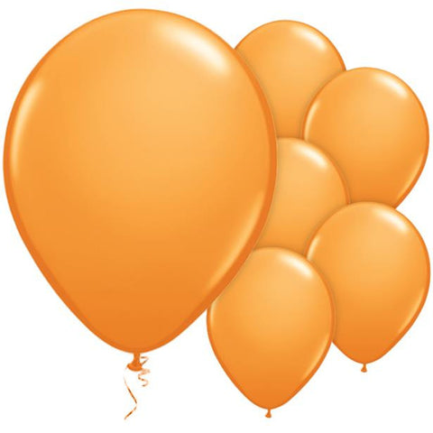 "Latex 11"" Orange Balloons 25ct"