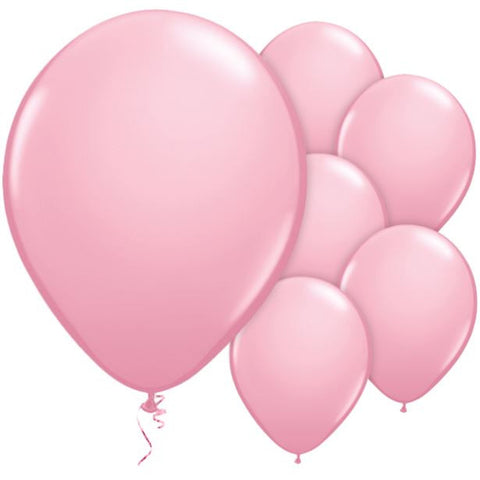 "Latex 11"" Pink Balloons 25ct"