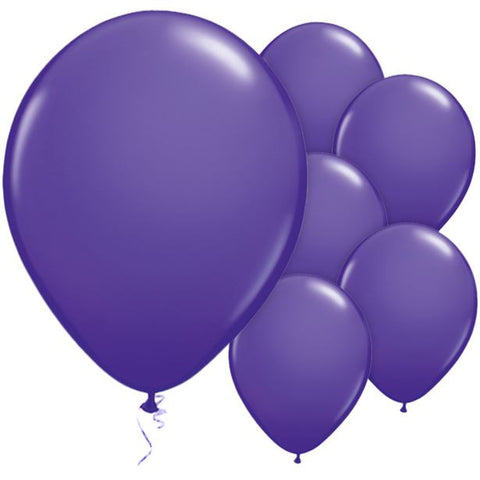 "Latex 11"" Purple Violet Balloon 25ct"