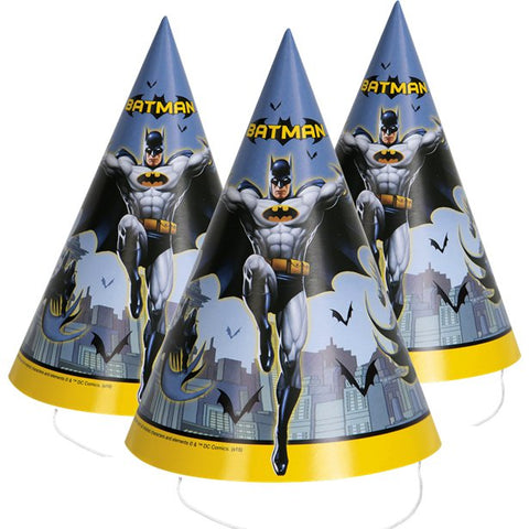 Batman Party Hats 8ct