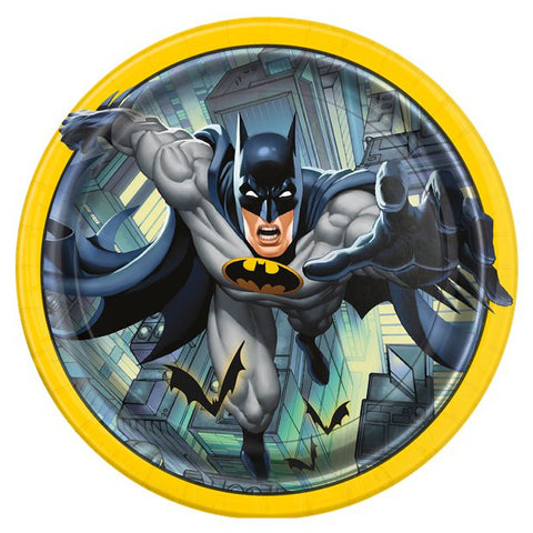 Batman Party Paper Plates 8ct