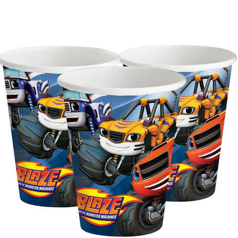 Blaze and the Monster Machines Paper Cups 8ct