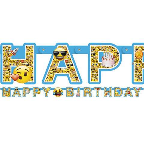 Emoji Birthday Banner