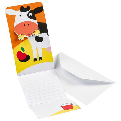 Farm Fun Invitations 8ct