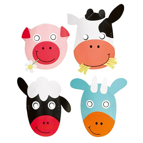 Farm Fun Masks 8ct