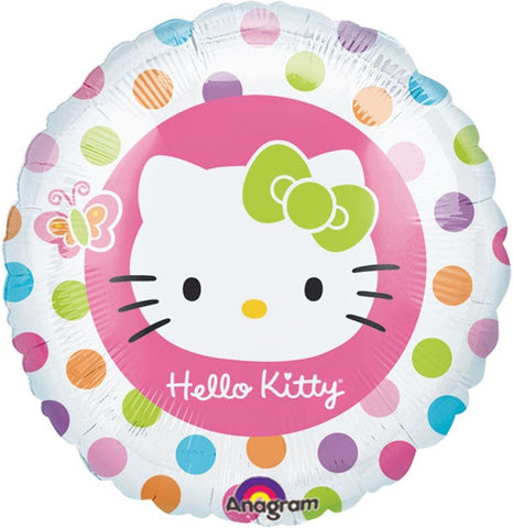 "Hello Kitty Rainbow 18"" Foil Balloon"