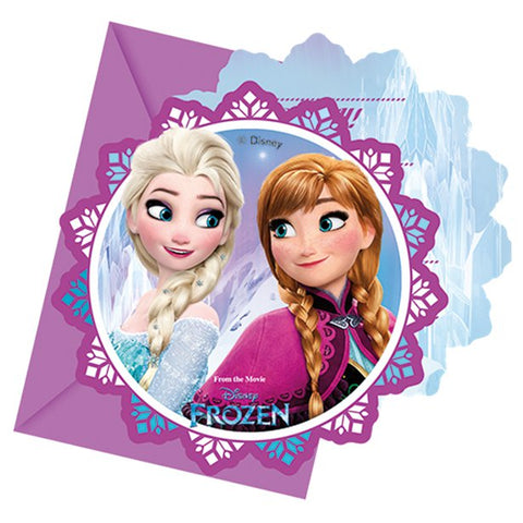Disney Frozen Party Invitations 6ct