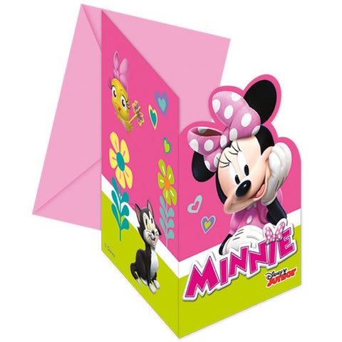 Minnie Mouse Invitations 6ct