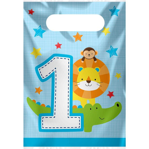 One Is Fun Boy Loot Bag 8ct