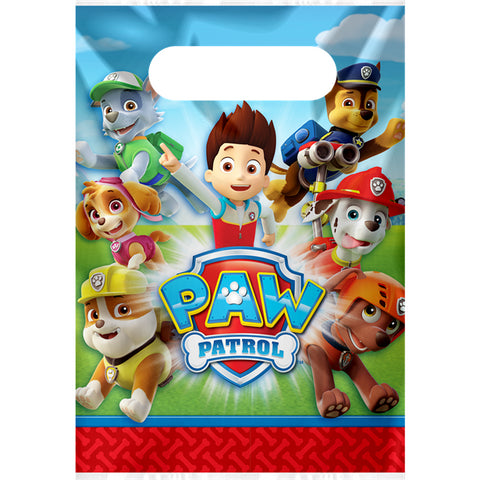 Paw Patrol Party Bags 8ct