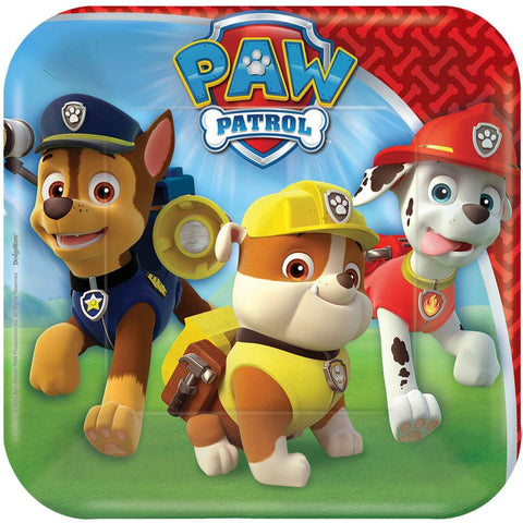 Paw Patrol Dessert Party Paper Plates 8ct