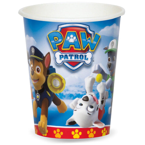 Paw Patrol Party Paper Cups 8ct