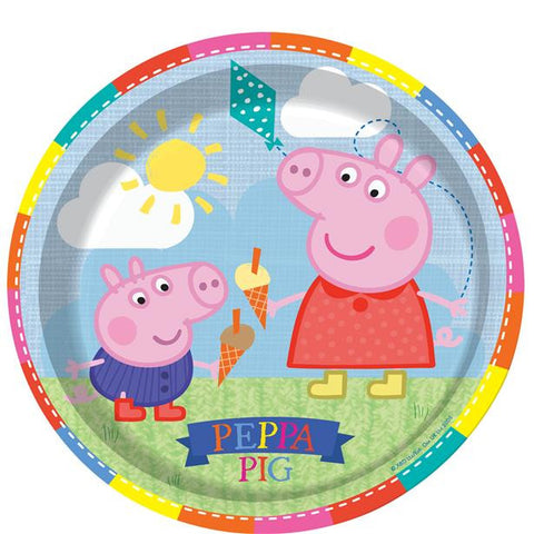 Peppa Pig Party Paper Plates 8ct