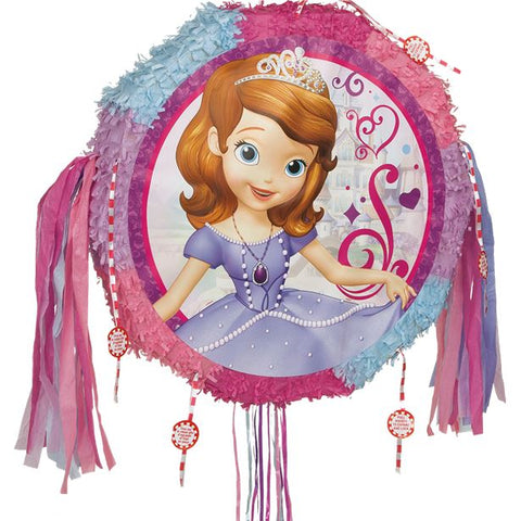 Sofia The First Pull Piñata