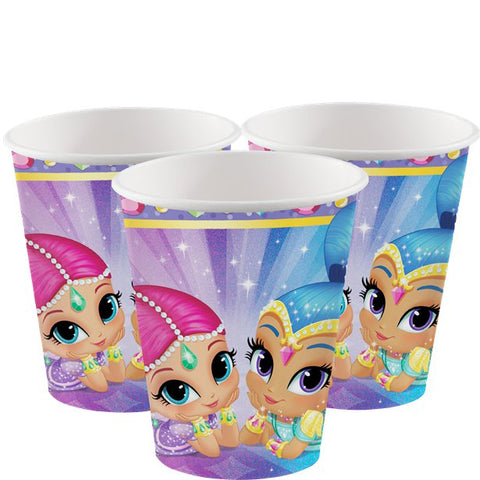 Shimmer & Shine Paper Cups 8ct
